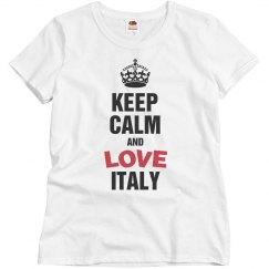 keep calm love Italy