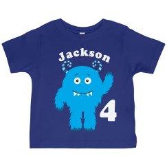Blue Monster Birthday Boy