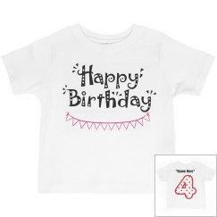 4th birthday