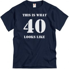 What 40 Looks Like-Men's