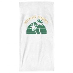 Sunny Vibes (Green Palms)