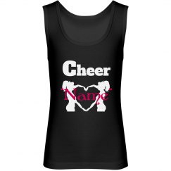 Personalized cheer top