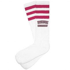 Black Striped Sock