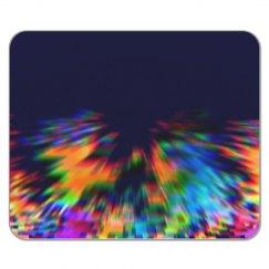 Blurred Rainbow Hands Reaching