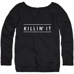 Killin' It Slouchy Sweater