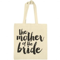 Mother Bride Script Bag