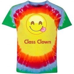 Class Clown Tie Dye Tee