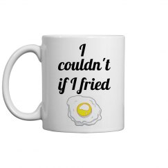 Fried eggs coffee mug