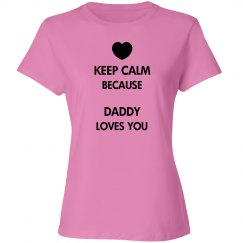 Daddy Loves You Tee