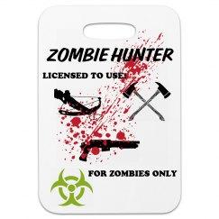Zombie Luggage tag
