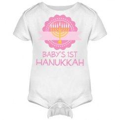 Baby's 1st Hanukkah Menorah