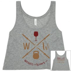 Weights for Winos Crop Top