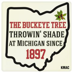 Ohio Buckeye Tree Coaster