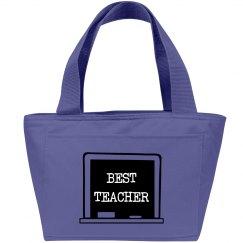 BEST TEACHER LUNCH TOTE