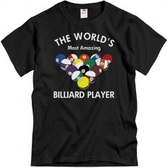 Amazing Billiard Player