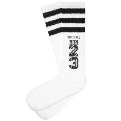Hustle Football Mom Socks