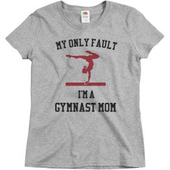only fault gymnast mom