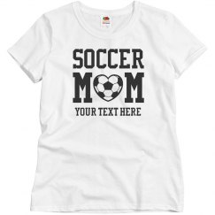 Custom Rhinestone Soccer Mom