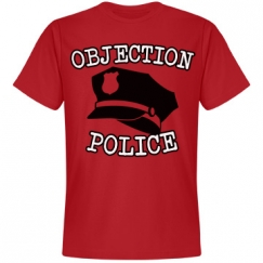 Objection police