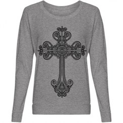 Trendy Cross Top