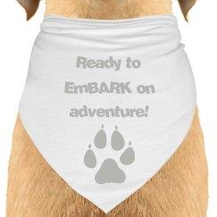 Ready to EmBARK Bandana
