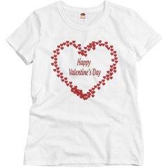 Happy Valentine's day mini hearts