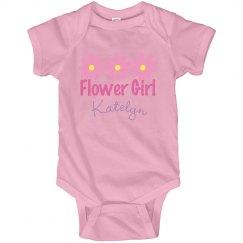 Flower Girl Pink Daisies