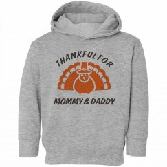 Thankful for Mommy & Dad
