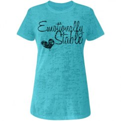 Emotionally stable tee