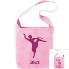 Grace. Ballet bag
