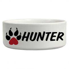Hunter, Dog Bowl