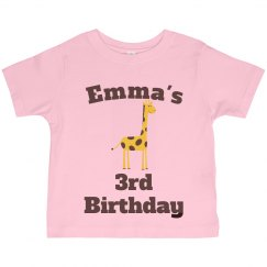 Emma's 3rd birthday