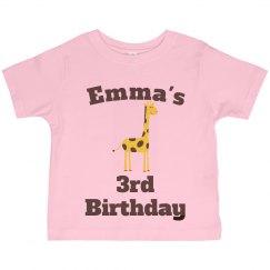 Emma's 3rd birthday