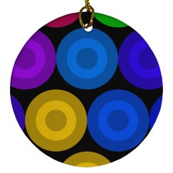 colored circle design