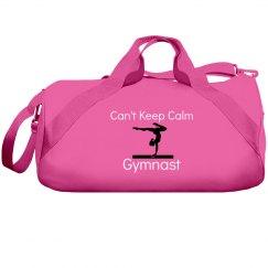 Can't keep calm, gymnast