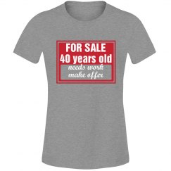 40 year old for sale