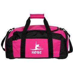 Rose dance bag