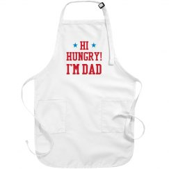 Dad Joke Gift Hi Hungry Apron
