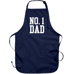 #1 Dad Father's Day Grill Gift