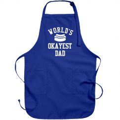 World's Okayest Dad Grill Apron
