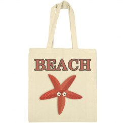Starfish Beach Tote Bag