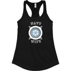 Navy Wife Tank