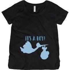 Its A Boy Maternity Tee