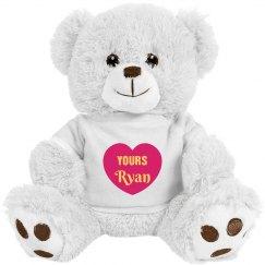 Valentines Teddy Bear Gift