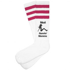 Mud Run Cowgirl Socks