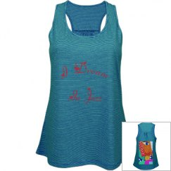 I dream / relaxed fit sleeveless, racer back, tank top