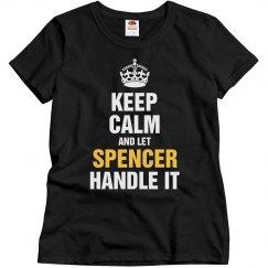 Let Spencer handle it