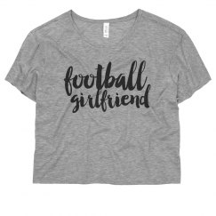 Football Girlfriend Crop