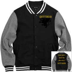 Gryffindor letterman jacket