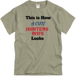 Cute hunters wife